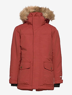 SAREK EXPEDITION PARKA - parkas - 022/burnt henna