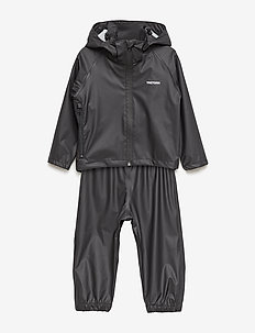 KIDS PACKABLE RAINSET - sets & suits - 010/black