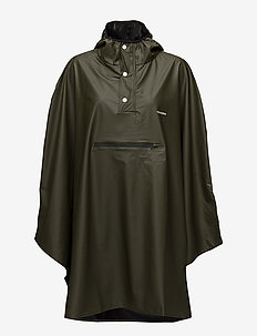 PU LIGHT RAINPONCHO - jackor & rockar - forest green