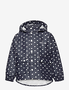 KIDS WINGS RAINCOAT - overall - 087/navy/dot