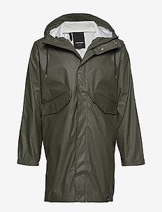 URBAN PU PARKA - vêtements de pluie - 067/forest gree