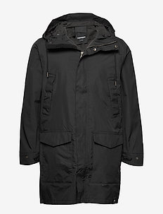 MENS RAIN JACKET FROM THE SEA - parkas - 014/deep end bl