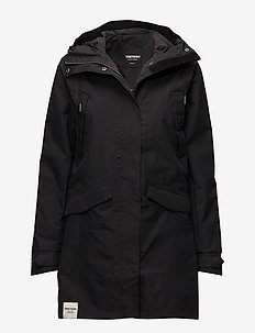 WOMENS RAIN JACKET FROM THE SE - outdoor- & regenjacken - 014/deep end bl