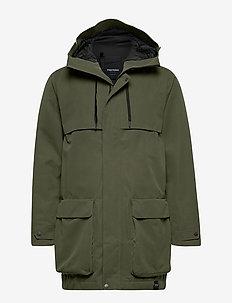 ARCH JKT MEN - płaszcze przeciwdeszczowe - 067/forest gree