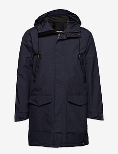 RAIN JKT FROM THE SEA PADDED M - 017/HULL BLUE
