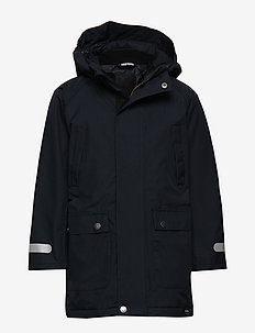 KIDS PARKA FROM THE SEA - 017/hull blue