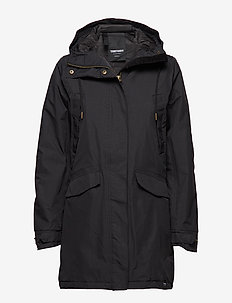 RAIN JKT FROM THE SEA PADDED W - 014/DEEP END BL