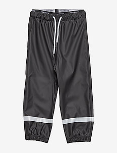 KIDS EXPLORER RAINPANTS - spodnie - 011/jet black