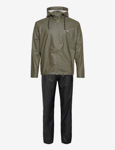 PACKABLE RAINSET - regenbekleidung - 067/forest gree