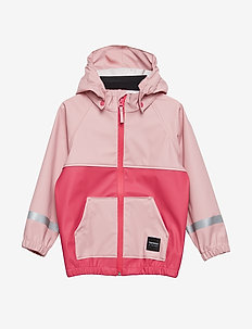 KIDS HOOD RAINJACKET - 093/LT ROSE/RAS