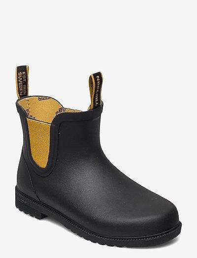 KIDS CHELSEA CLASSIC - unlined rubberboots - 016/black/harve