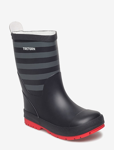 GRNNA - unlined rubberboots - black/grey