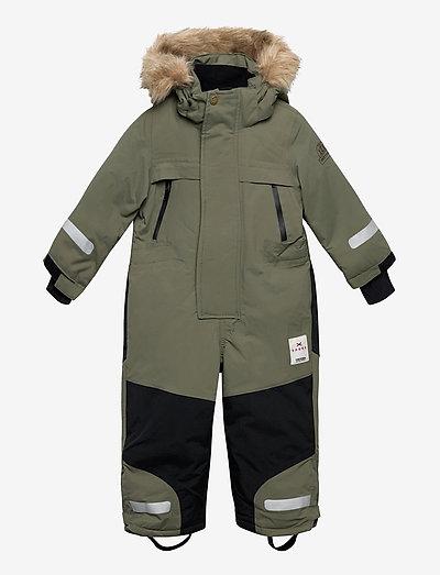 SAREK EXPEDITION OVERALL - snowsuit - 063/field green
