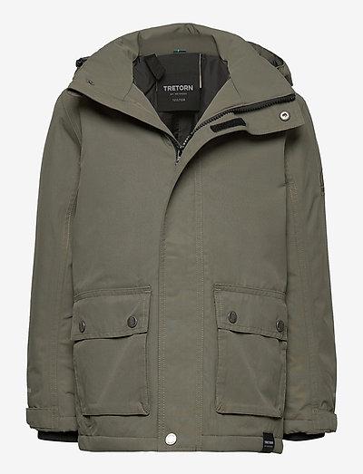CLART PARKA - insulated jackets - 063/field green