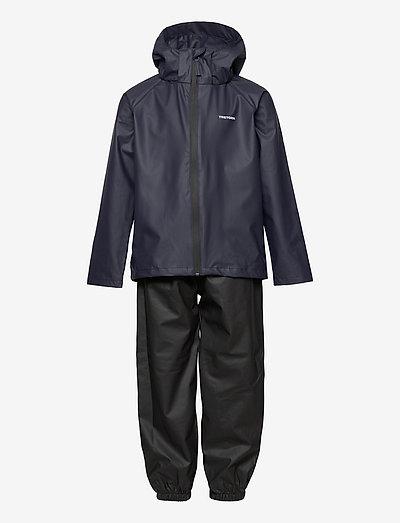 KIDS PACKABLE RAINSET - coveralls - 080/navy