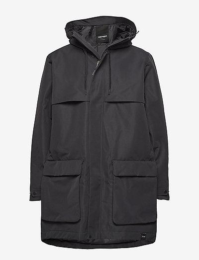 ARCH JKT MEN - manteaux de pluie - 011/jet black