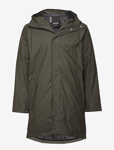 WINGS MONOCROME PADDED - manteaux de pluie - 066/black olive