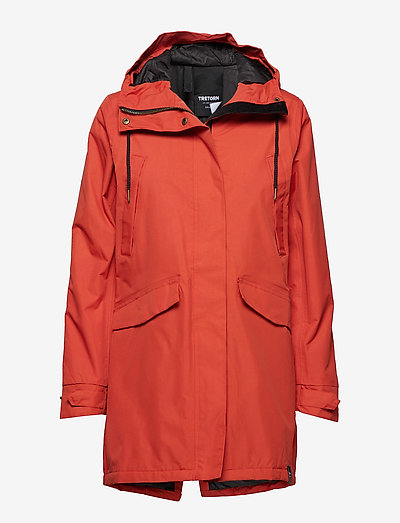 RAIN JKT FROM THE SEA PADDED W - parkacoats - 052/gunwhale re