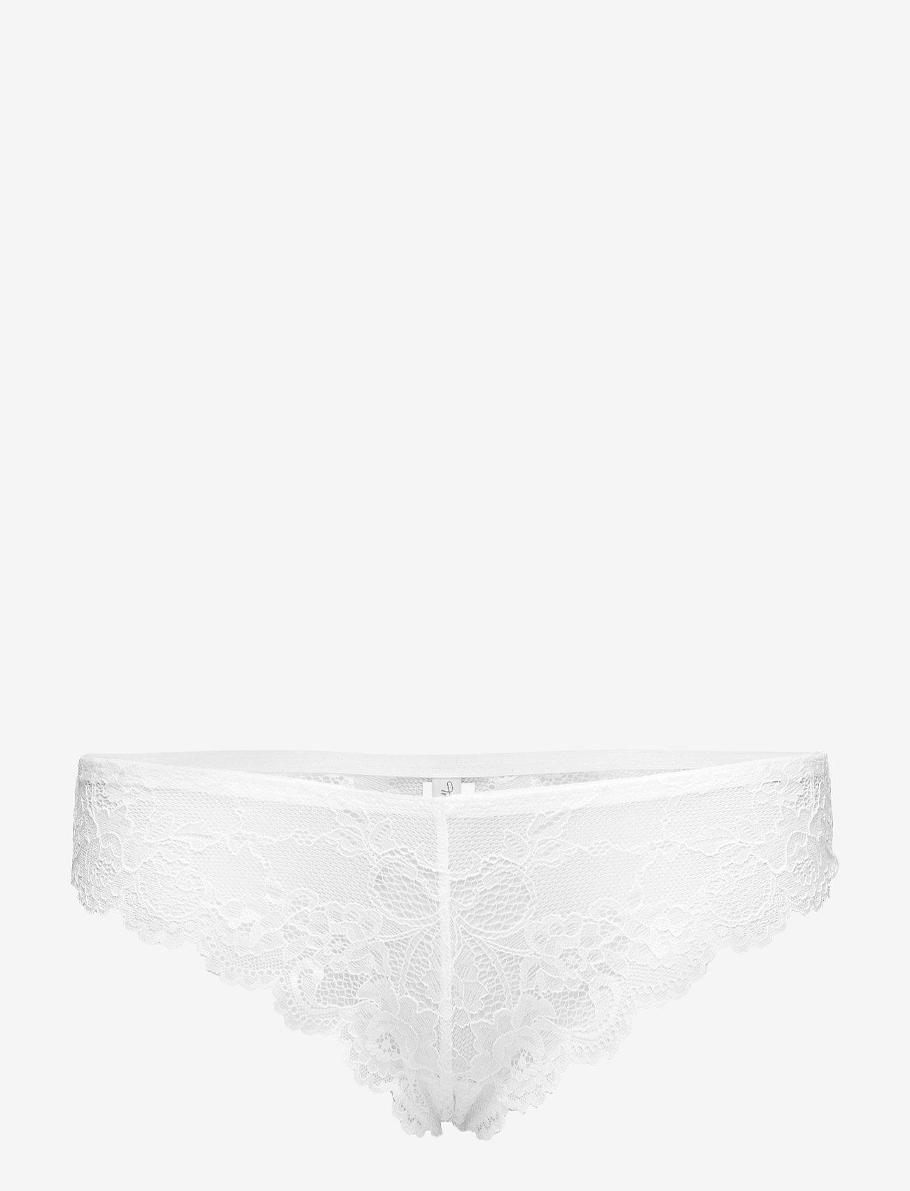 Triumph - Tempting Lace Brazilian String - string - white - 0