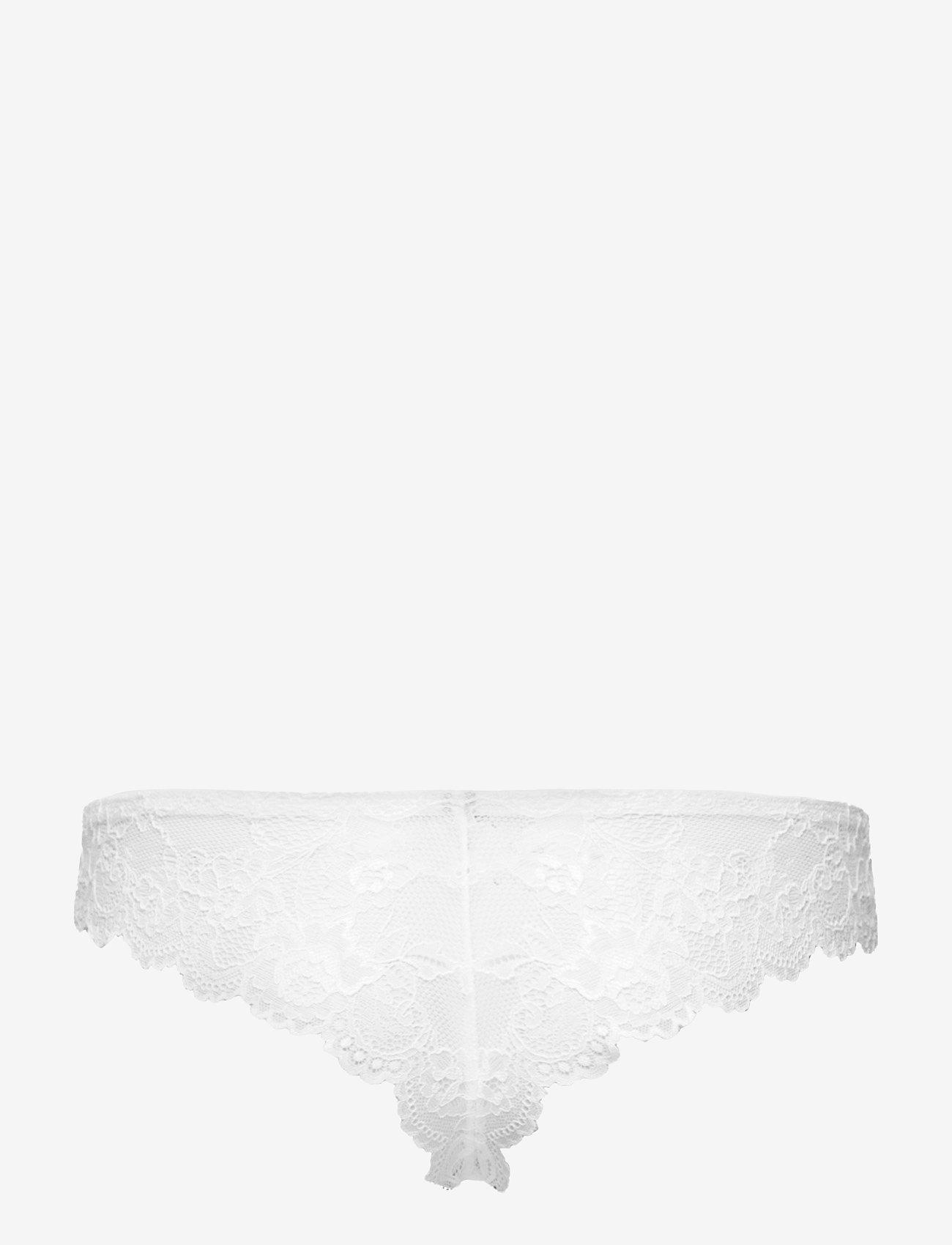 Triumph - Tempting Lace Brazilian String - string - white - 1