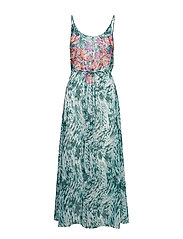 Triumph Floral Cascades Dress - GREEN - DARK COMBINATION