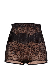 Amourette Charm Highwaist Panty - BLACK