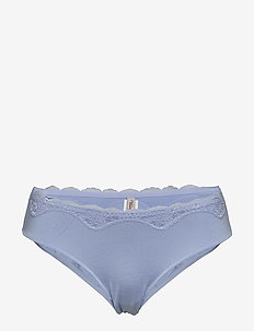 Touch of Modal Tai - slips - wedgewood blue