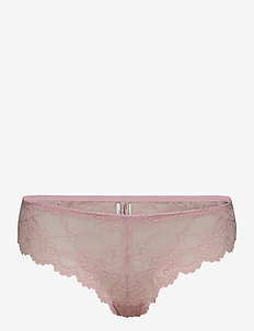 Tempting Lace Brazilian String - slips - old pink