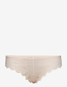 Tempting Lace Brazilian String - briefs - orange highlight