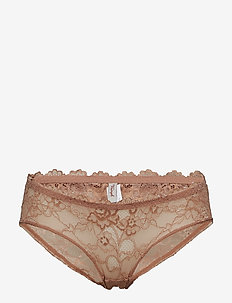 Tempting Lace Hipster - culotte taille basse - rust