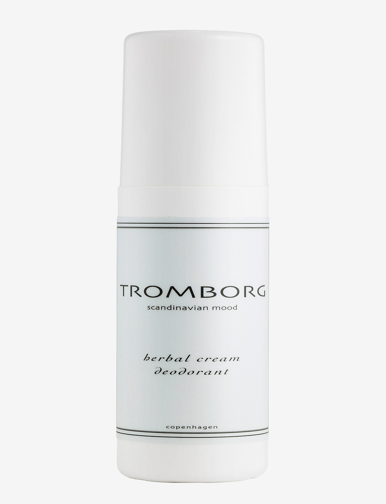Tromborg - Herbal Cream Deodorant - deo roll-on - no colour - 0