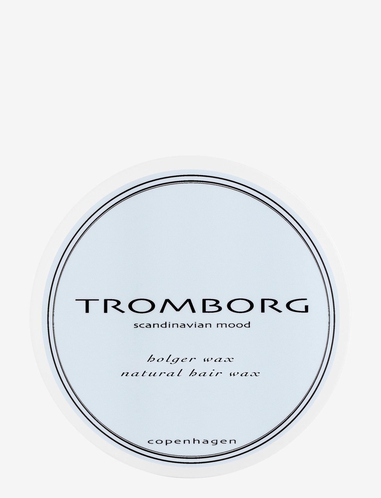Tromborg - Holger Wax - vahat & geelit - no colour - 0