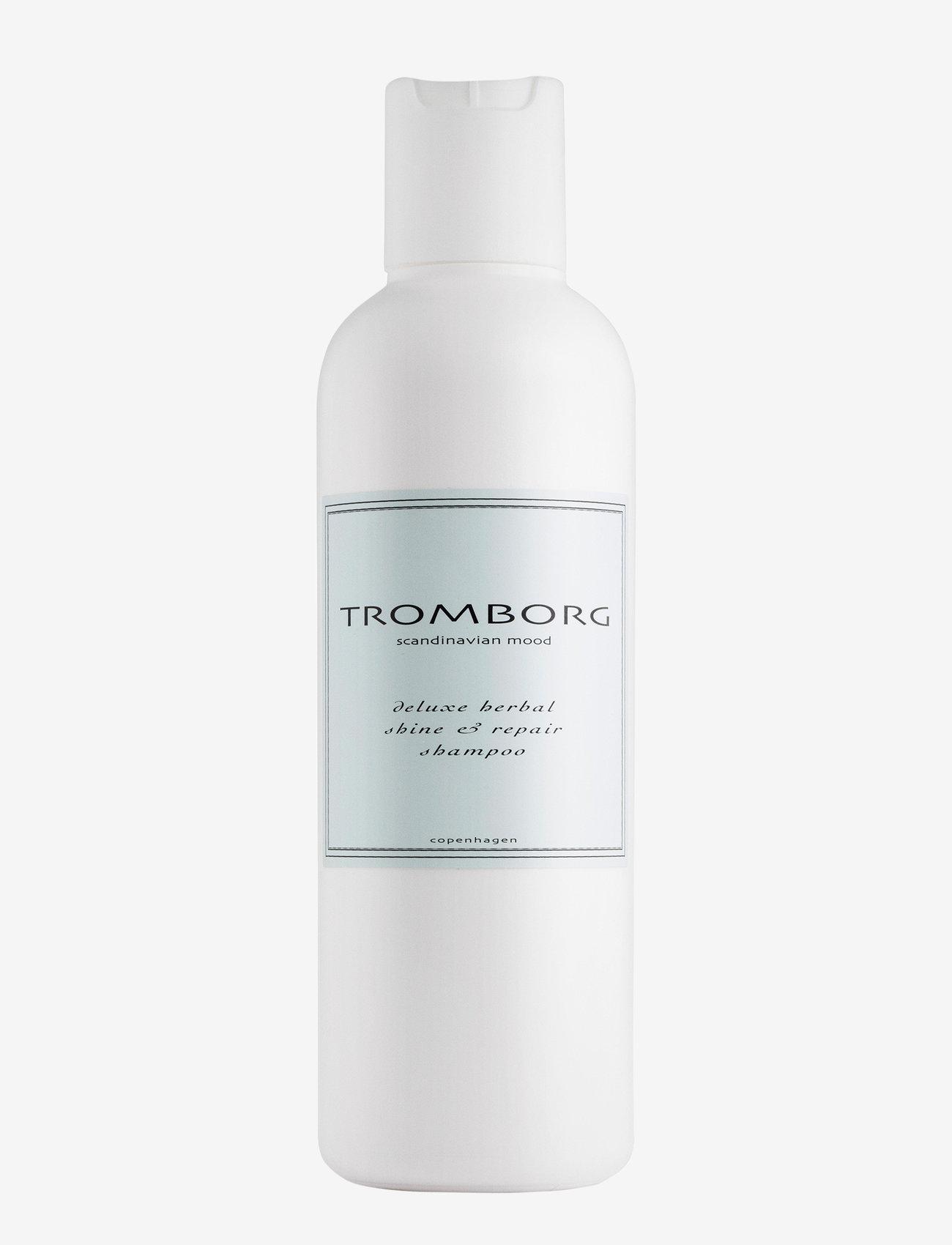Tromborg - Deluxe Herbal Shine & Repair Shampoo - shampoo - no colour - 0