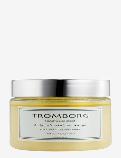 Body Salt Scrub - Orange - kuorinta - no colour