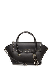 LEVANTO BORCHIE - Flap Bag - BLACK