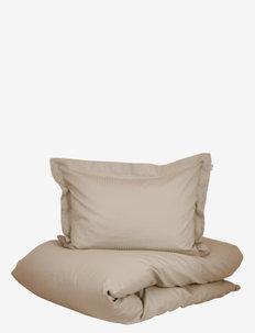 Turistripe - bedding sets - beige