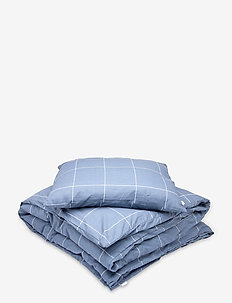 Fredrik - kuddar & täcken - blue