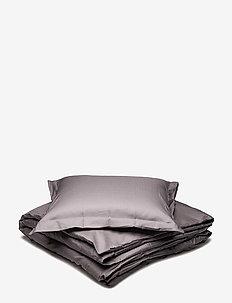 Turistripe - bedding sets - dark grey