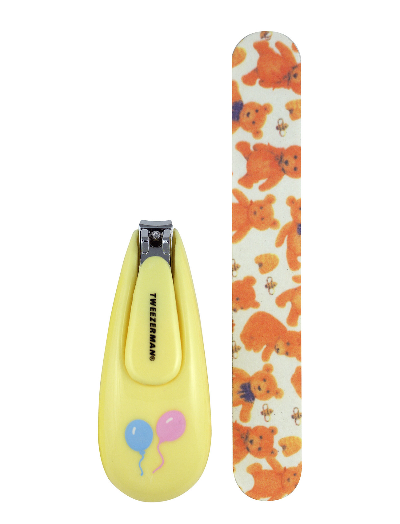 Baby Nail Clipper With Bear File - Tweezerman