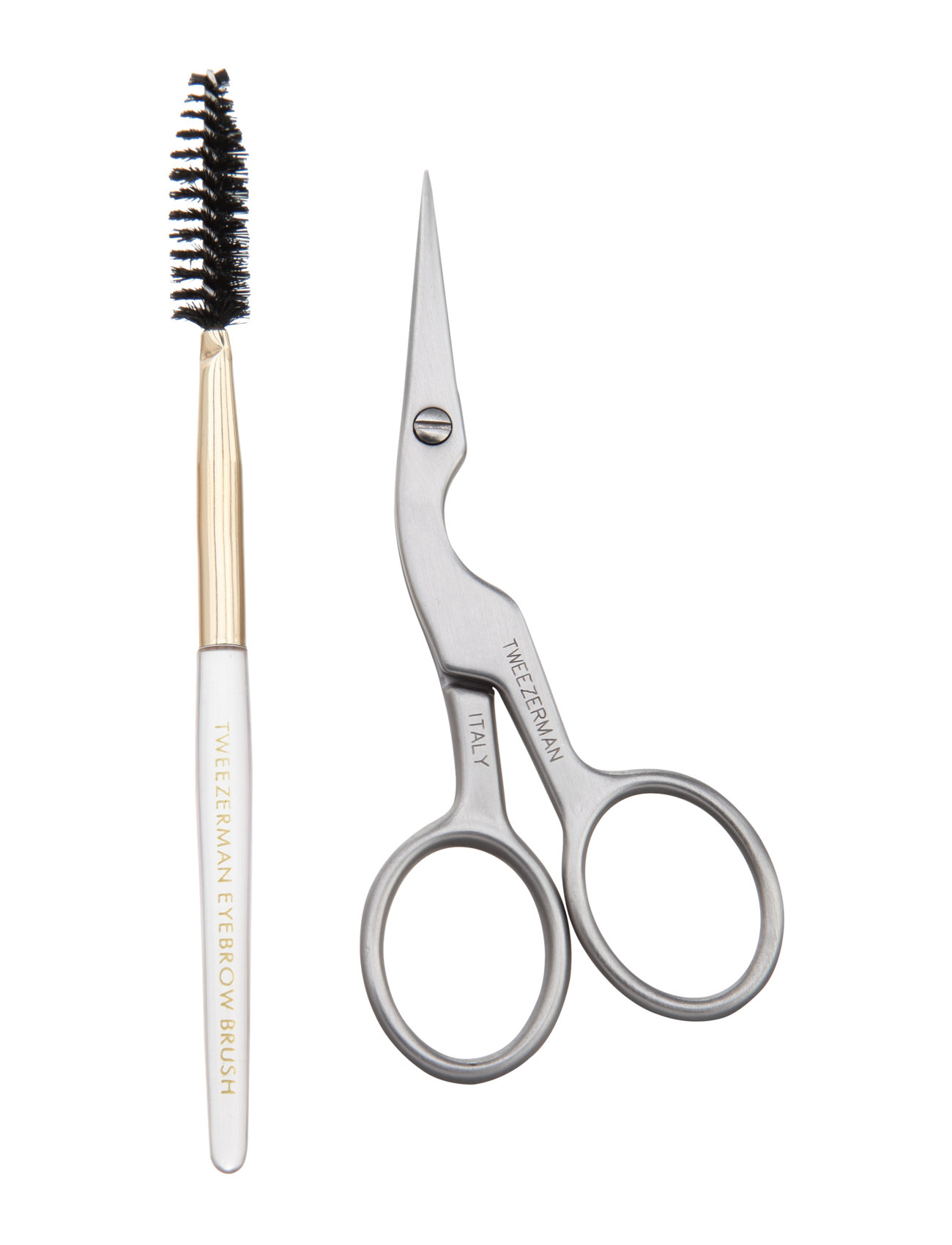 Brow Shaping Scissors & Brush - Tweezerman
