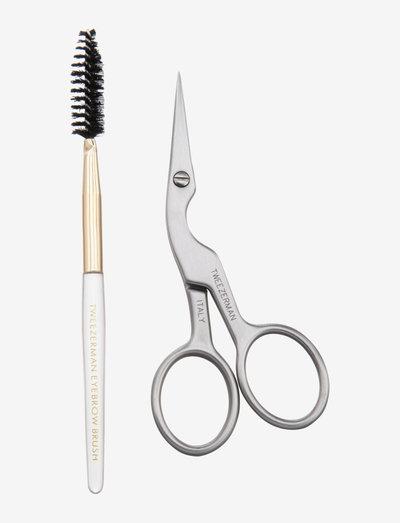 Brow Shaping Scissors & Brush - Øjenbryn - no color