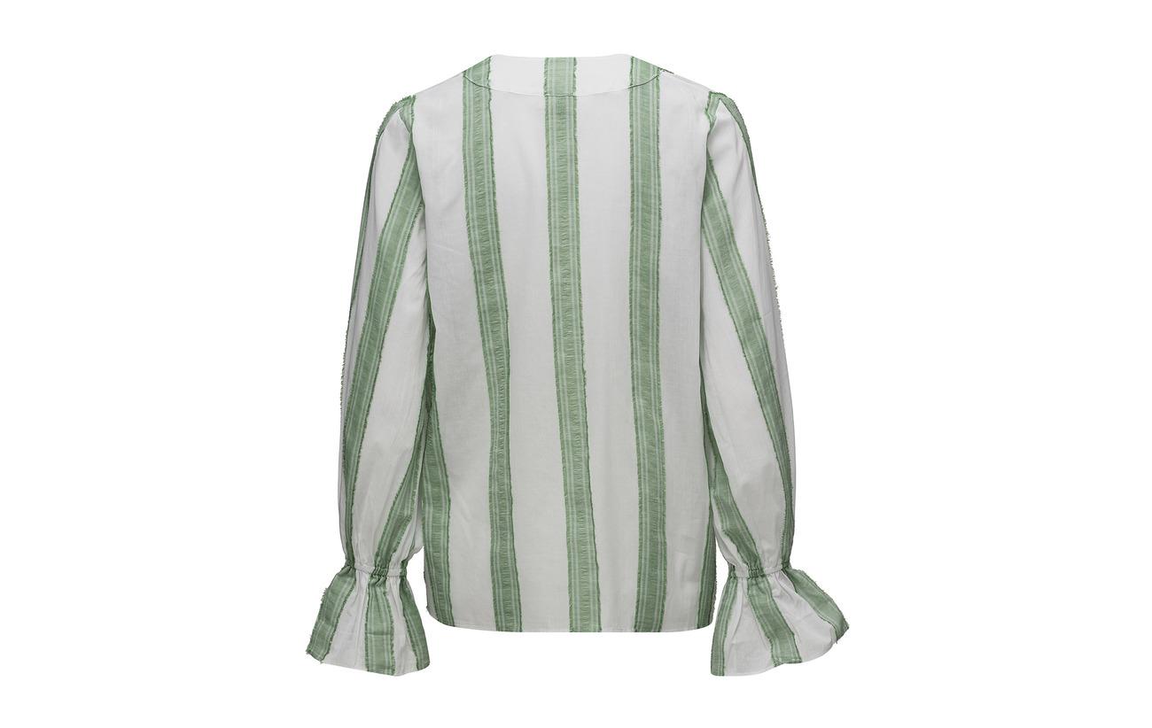 Coton Green Twist Tango 100 Blouse amp; Natalia Stripe xxa0gUqw