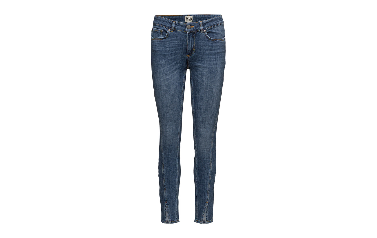 Twist Coton Elastane 93 5 Cut Ankel amp; 5 Polyester Julia Tango 5 1 Jeans Twisted 4zx4aqfrw