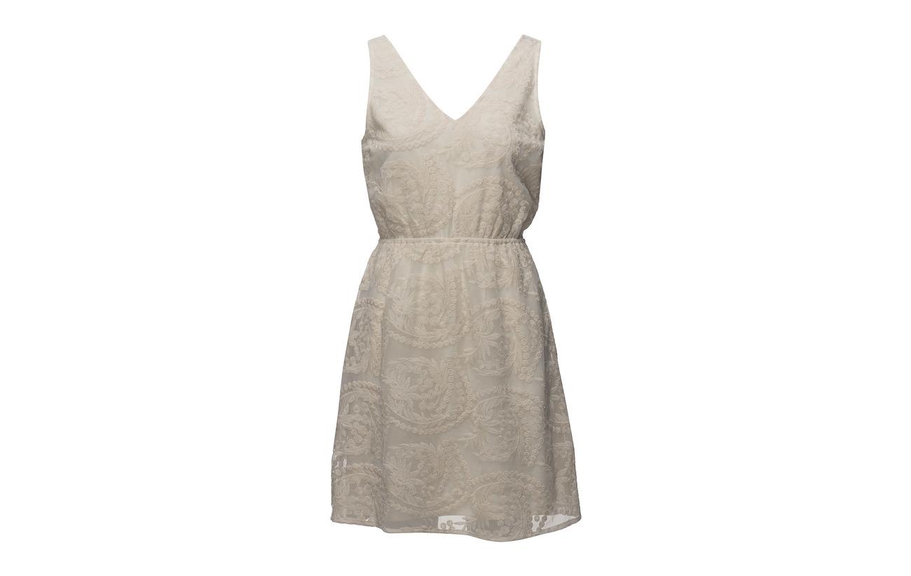 Off Viscose Doublure Twist Intérieure Voile amp; 100 Selina White Dress Tango BBf7Ixq