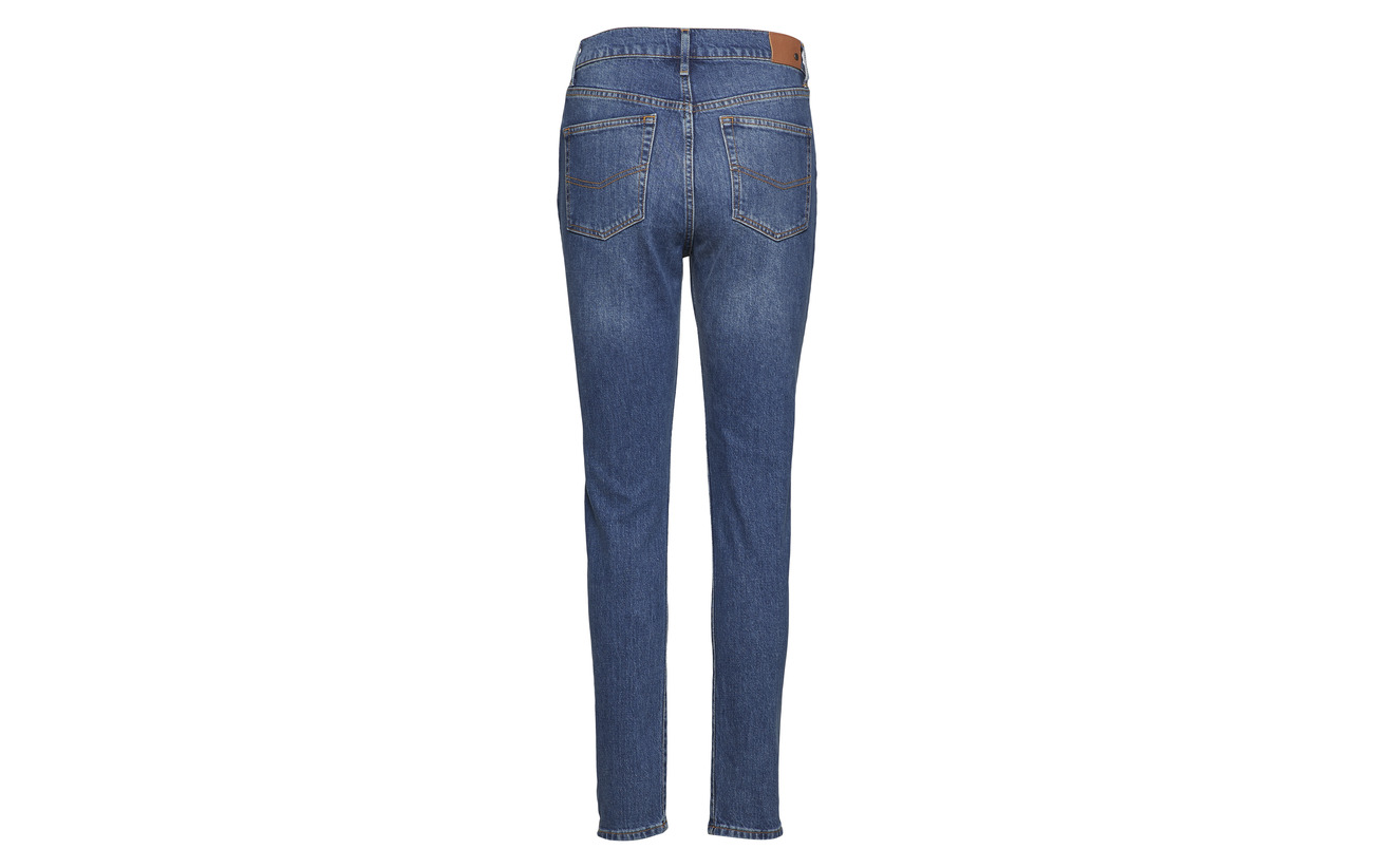 Polyester amp; Jeans Dark Fanny Tango 4 5 1 5 Elastane Twist Coton 94 tgqw7awd