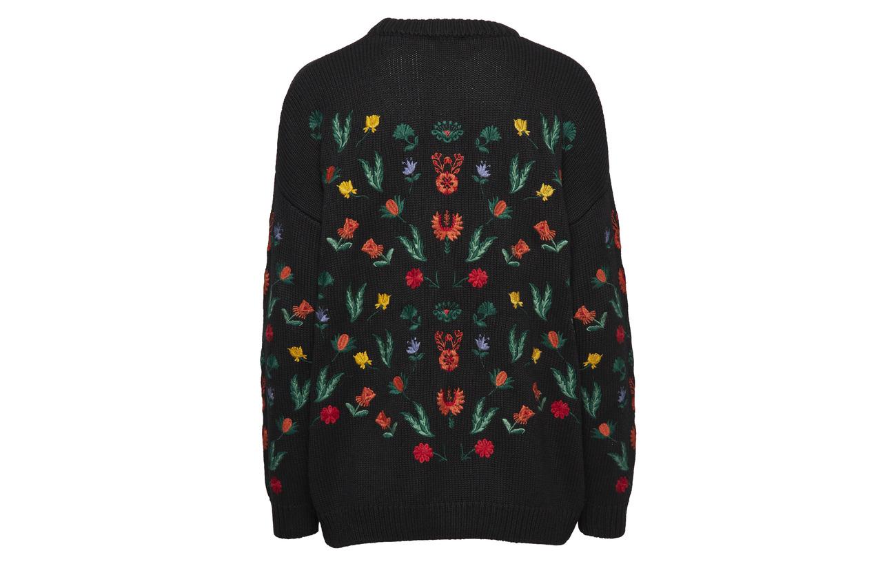Freja 30 Tango 35 Sweater amp; Black Acrylique Twist Nylon Laine 7XqERx