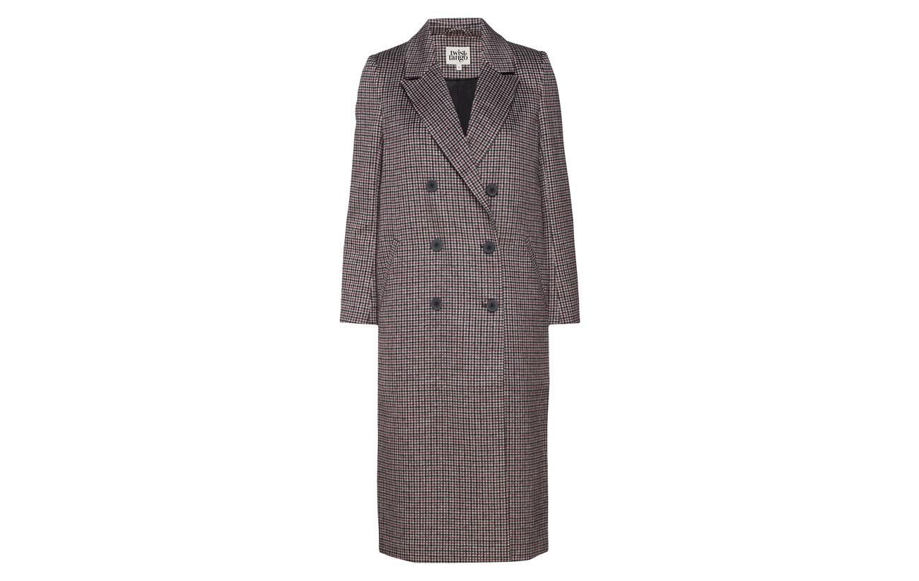 45 Tango Samantha Grey Coat Twist 55 amp; Polyester Laine ZS5nqn10W