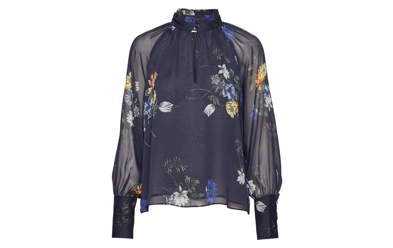 Twist Flower Sporty Polyester 100 Recyclé Blouse Eden Tango amp; 66qFwZ