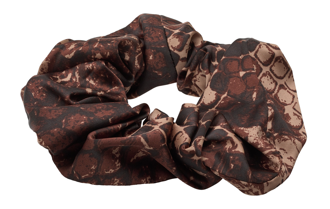 Twist & Tango Belle Scrunchie - BROWN SNAKE