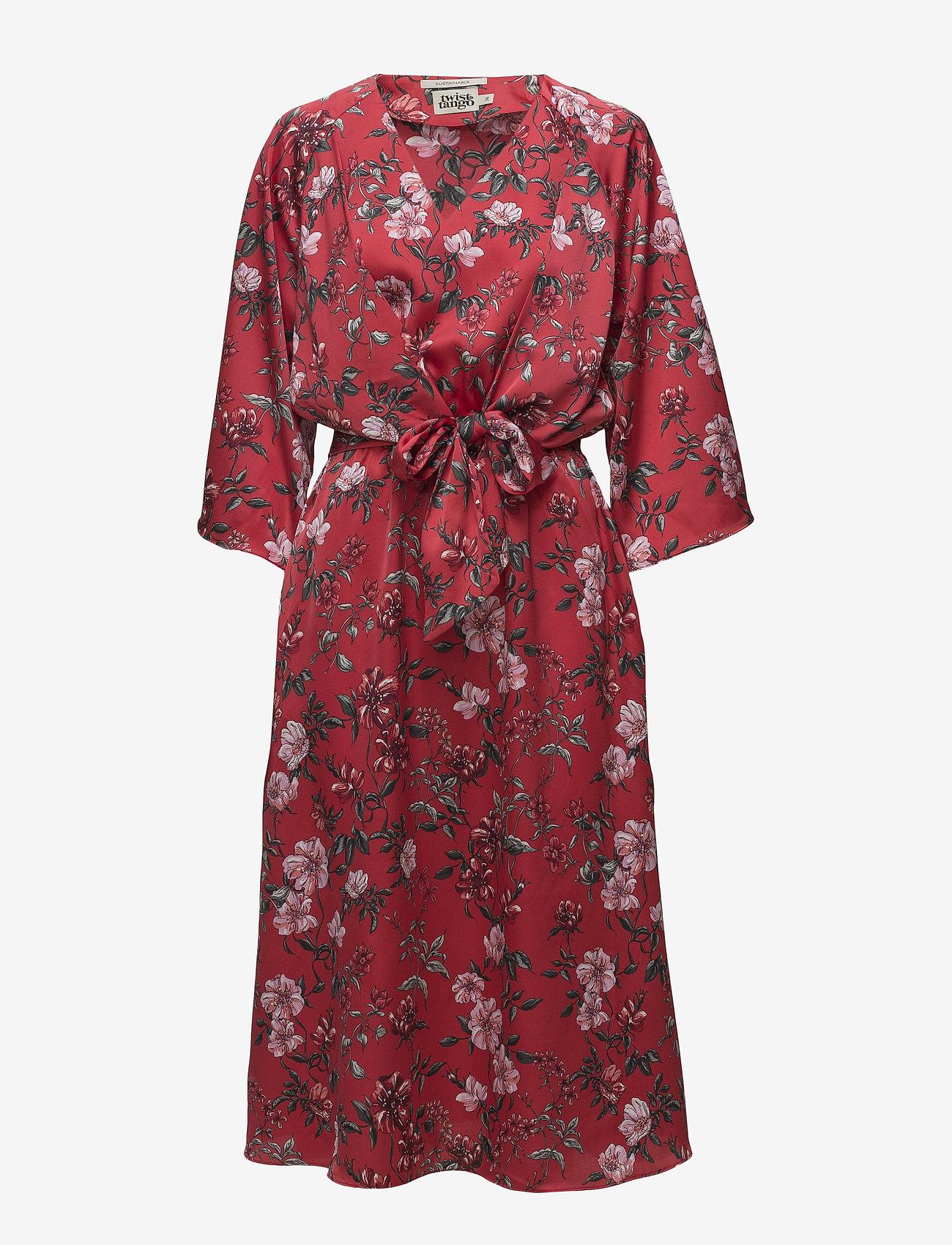 Twist & Tango - Maxine Dress - midiklänningar - red - 0